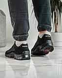 Кросівки чоловічі демісезонні чорні (Кз-18ч), фото 6