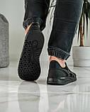Кросівки чоловічі чорні літні (ПР-4007ч), фото 2
