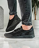 Кросівки чоловічі чорні літні (ПР-4007ч), фото 3