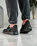 Кросівки чоловічі чорні літні (ПР-4007ч), фото 4
