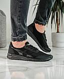 Кросівки чоловічі чорні літні (ПР-4007ч), фото 5