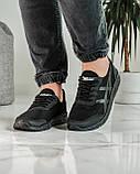 Кросівки чоловічі чорні літні (ПР-4007ч), фото 6
