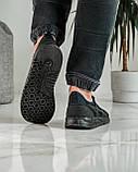 Кросівки чоловічі сині з чорним літні (ПР-4007с), фото 2