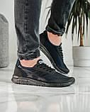Кросівки чоловічі сині з чорним літні (ПР-4007с), фото 5