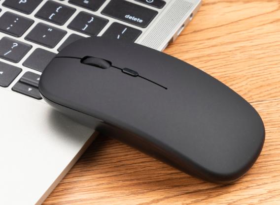 Бездротова миша, Bluetooth + USB Wireless, з підсвічуванням, безшумна, з акумулятором, блютуз мишка