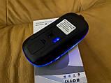 Бездротова миша, Bluetooth + USB Wireless, з підсвічуванням, безшумна, з акумулятором, блютуз мишка, фото 3