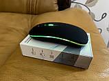 Бездротова миша, Bluetooth + USB Wireless, з підсвічуванням, безшумна, з акумулятором, блютуз мишка, фото 4