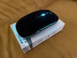 Беспроводная мышь, Bluetooth + USB Wireless, с подсветкой, бесшумная, с аккумулятором, блютуз мышка, фото 5