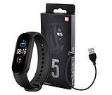 Фитнес браслет Smart Band M5 фитнес трекер, смарт браслет, умные смарт часы Bluetooth, шагомер, пульсометр, фото 3