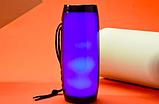 Портативна Bluetooth колонка TG157 з різнокольоровою підсвіткою, блютуз, вологозахищена, JBL Pulse Charge, фото 5