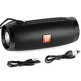 Портативна Bluetooth колонка TG157 з різнокольоровою підсвіткою, блютуз, вологозахищена, JBL Pulse Charge, фото 6