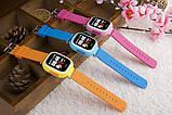 Дитячі розумні смарт годинник Q90 c GPS Smart Baby Watch з прослуховуванням сім картою Годинник-телефон для дітей з трекером, фото 3