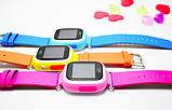 Детские умные смарт часы Q90 c GPS Smart Baby Watch с прослушкой сим картой Часы-телефон для детей c трекером, фото 4