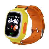 Дитячі розумні смарт годинник Q90 c GPS Smart Baby Watch з прослуховуванням сім картою Годинник-телефон для дітей з трекером, фото 10