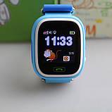 Дитячі розумні смарт годинник Q90 c GPS Smart Baby Watch з прослуховуванням сім картою Годинник-телефон для дітей з трекером, фото 5