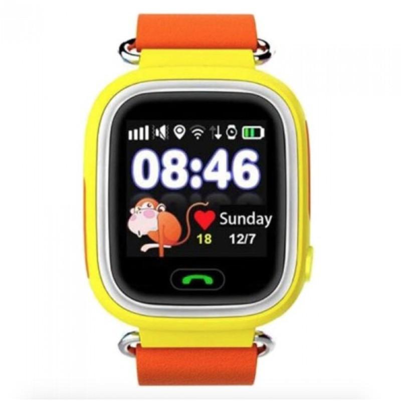 Дитячі розумні смарт годинник Q90 c GPS Smart Baby Watch з прослуховуванням сім картою Годинник-телефон для дітей з трекером