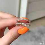Кольцо Серебро 925 пробы с фианитами Размеры 14-21, фото 2