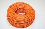 Кабель ПВС нг 2х2,5 мм² СКЗ оранжевый (100% ГОСТ) медь СЕРТИФИКАТ, фото 4