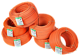 Кабель ПВС нг 2х2,5 мм² СКЗ оранжевый (100% ГОСТ) медь СЕРТИФИКАТ, фото 5