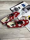 Жіночі кеди Vans Vault Era LX OG 'Palm Leaf, червоні, фото 5