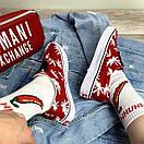 Жіночі кеди Vans Vault Era LX OG 'Palm Leaf, червоні, фото 6