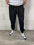 Спортивні штани чорні 21194, фото 7