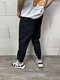 Спортивні штани чорні 21194, фото 8