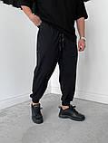 Спортивні штани чорні 21194, фото 9