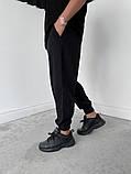 Спортивні штани чорні 21194, фото 10