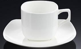 Чашка чайна з блюдцем 200 мл WILMAX WL-993003