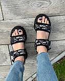 Босоножки Диор Черные, фото 4