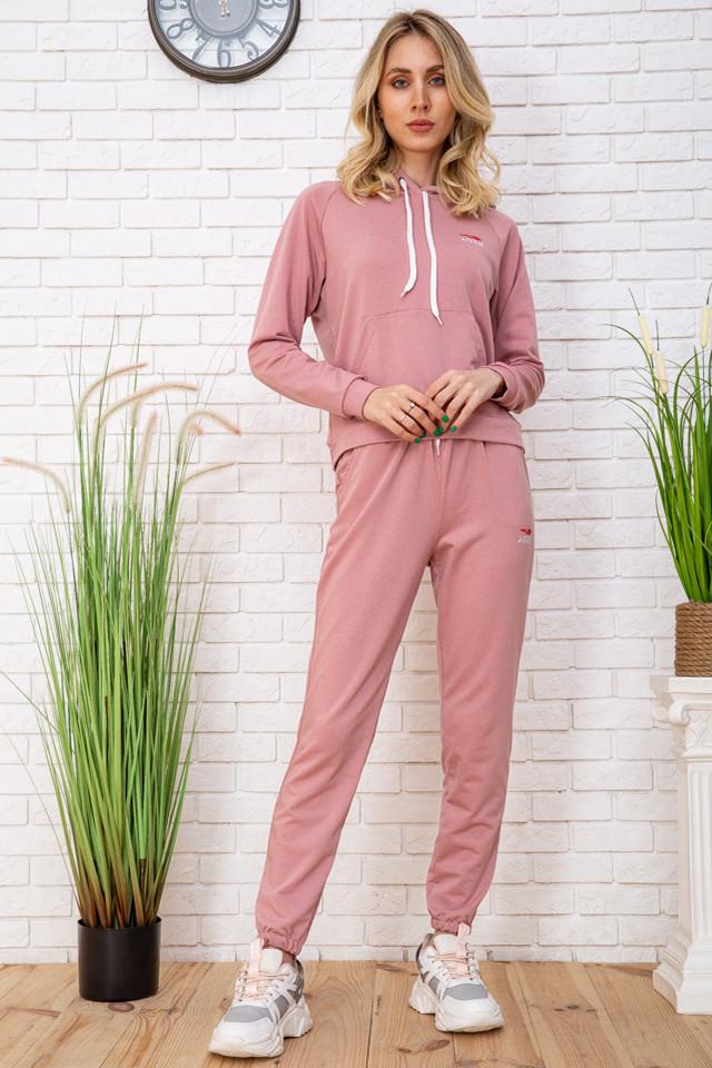 Спорт костюм жін. 129R1467-14 колір Пудрово-білий