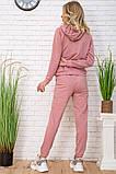 Спорт костюм жін. 129R1467-14 колір Пудрово-білий, фото 3
