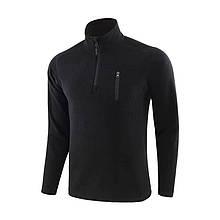 Тактическая кофта куртка флис ESDY A973 L Black 5133-18452, КОД: 2406944