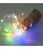 Гирлянда Роса-пробка на батарейках 20 LED, фото 1