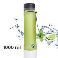 Пляшка для води CASNO 1000 мл KXN-1111 Зелена, фото 1