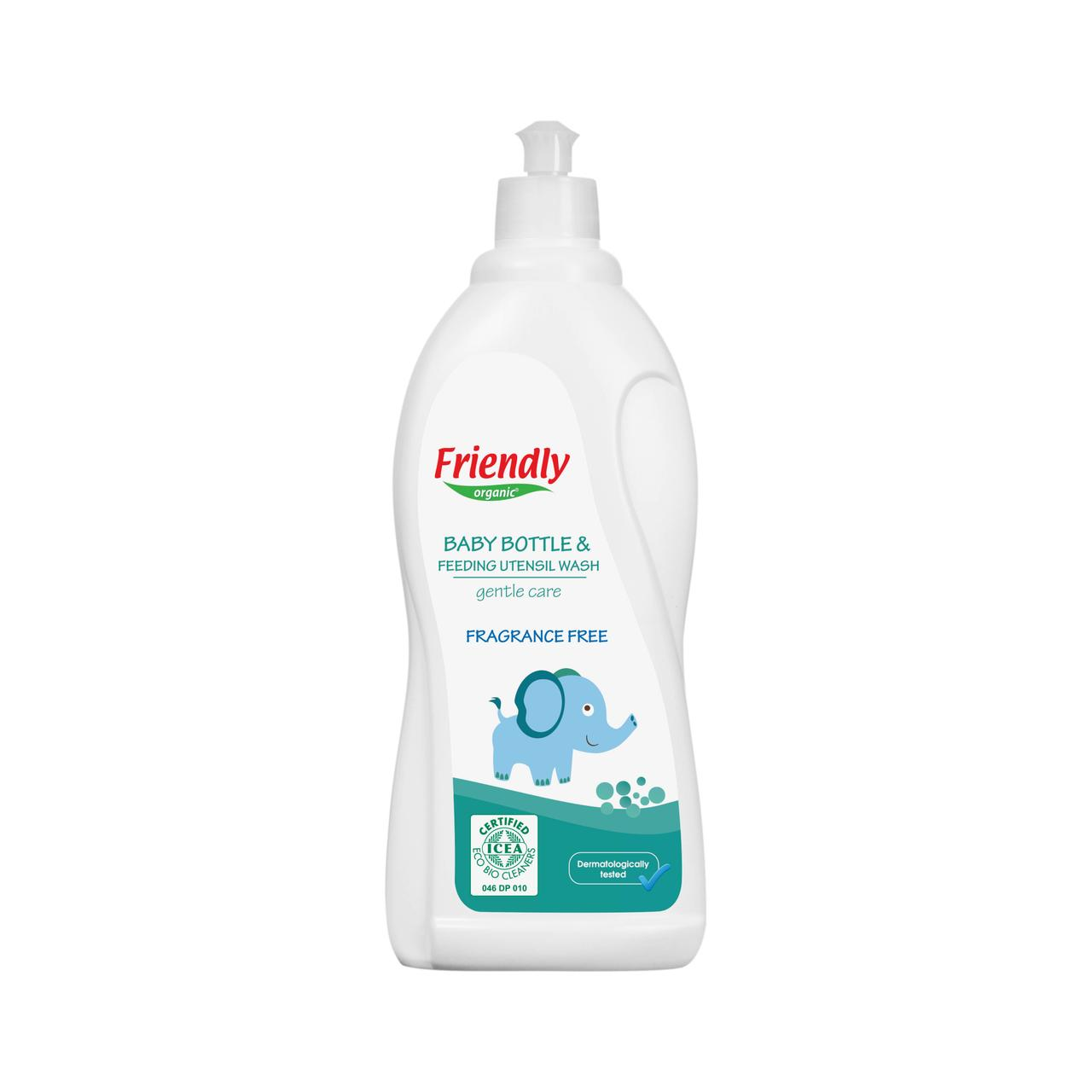 Органическое моющее средство для детской посуды, бутылок, сосок Friendly Organic 750 мл