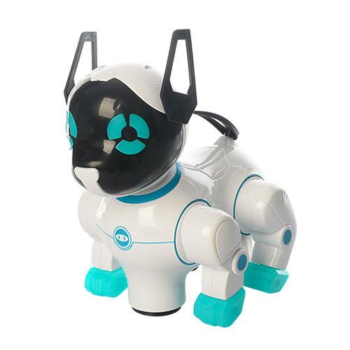 Интерактивная игрушечная собака 8201A с музыкальными эфектами (Голубой)