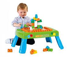 Розвиваючий набір Полісся: Дитячий столик з Конструктором , 20 елементів (57990)