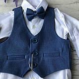 Детский нарядный костюм на мальчика 720. Размер 68 см, фото 2