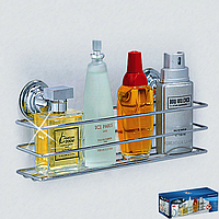 Полочка для ванной 30 x10 x12 см на вакуумных присосках