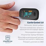 Портативный пульсоксиметр Medica+ Cardio Control 5.0 (Япония), фото 3