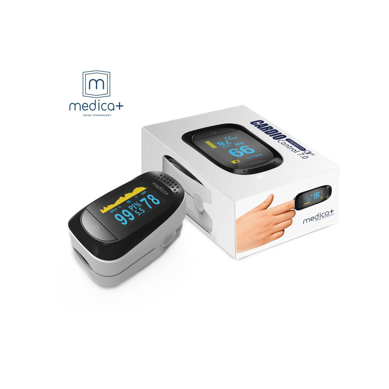 Пульсоксиметр MEDICA+ Cardio control 7.0 WT