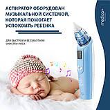 НАЗАЛЬНИЙ АСПІРАТОР (СОПЛЕОТСОС) MEDICA+ NOSE CLEANER 7.0 для дорослих і немовлят, фото 5