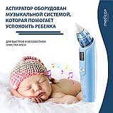 Назальный аспиратор (соплеотсос) Medica+ Nose Cleaner 7.0 (Япония), фото 5