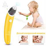 Назальний Аспіратор (соплеотсос) MEDICA+ Nose Cleaner 3.0 Для підлітків і новонароджених Наконечник для дітей, фото 5