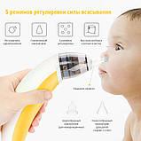 Назальний Аспіратор (соплеотсос) MEDICA+ Nose Cleaner 3.0 Для підлітків і новонароджених Наконечник для дітей, фото 8