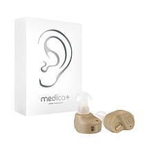 Универсальный слуховой аппарат Medica+ Sound Control 11 на батарейке (Япония)