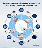 СТАЦІОНАРНИЙ ІРИГАТОР MEDICA + PROWATER STATION 7.0 (BL) іригатор для професійного догляду за порожниною р, фото 10
