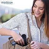 РУЧНИЙ МАСАЖЕР MEDICA+ ПЕРКУСІЙНИЙ MASSHAND PRO 5.0 Масажер для вібраційної терапії 6 насадок, фото 9